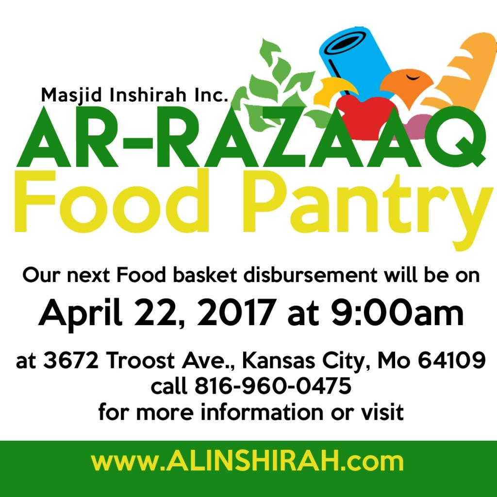 Ar Razaaq logo flyer