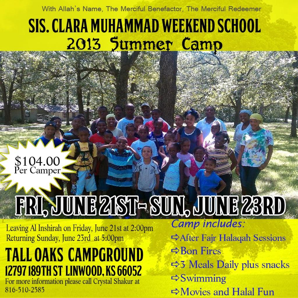 SCMS Summer Camp