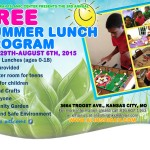 Free Summer Lunch Program 2015