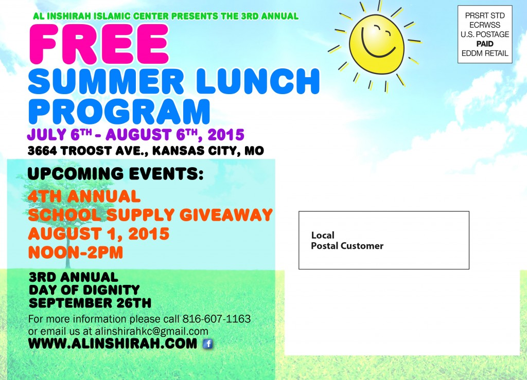 Summer Lunch Program 2015
