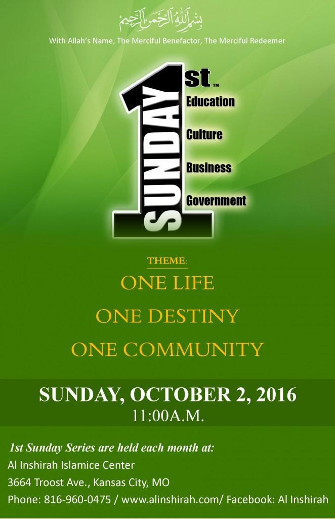1st Sunday October